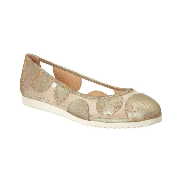 French Sole Womens Retro Closed Toe Loafers - 5.5