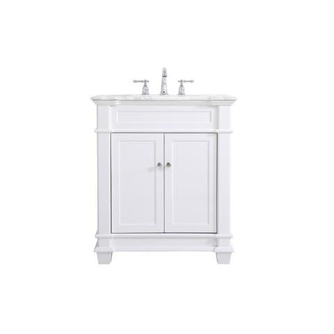West Bathroom 30 Inch Vanity Set