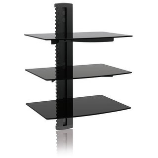 Tv Mount, Ematic 3 Shelf Tv Wall Mount Kit With Cable Organization For Dvd Players, Dvrs And Console Gaming Systems [ Em