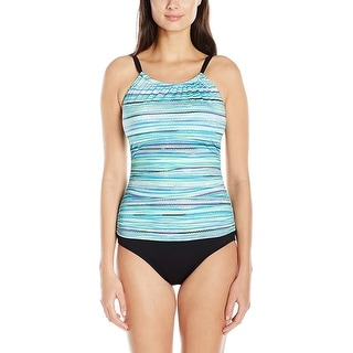 Jantzen Womens Tummy Control Printed One-Piece Swimsuit - 6