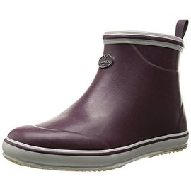 Le Chameau Womens Brehat Rubber Round Toe Chelsea Boots - 6