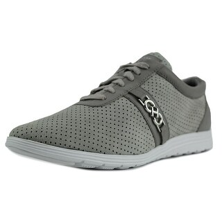 Cole Haan Bria Grand Sort Ox II Women Leather Gray Fashion Sneakers