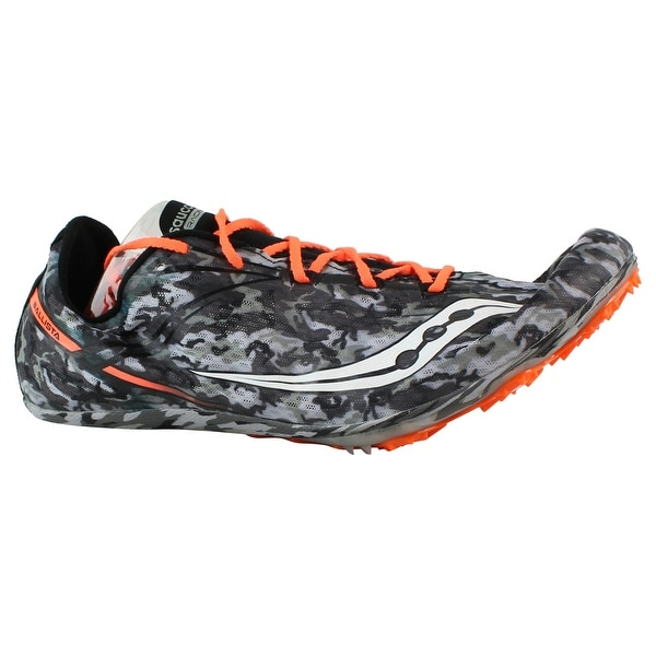 Shop Saucony Mens S29026-3 Black White Track Cleats Size 13 - On ... 29ba7cef0