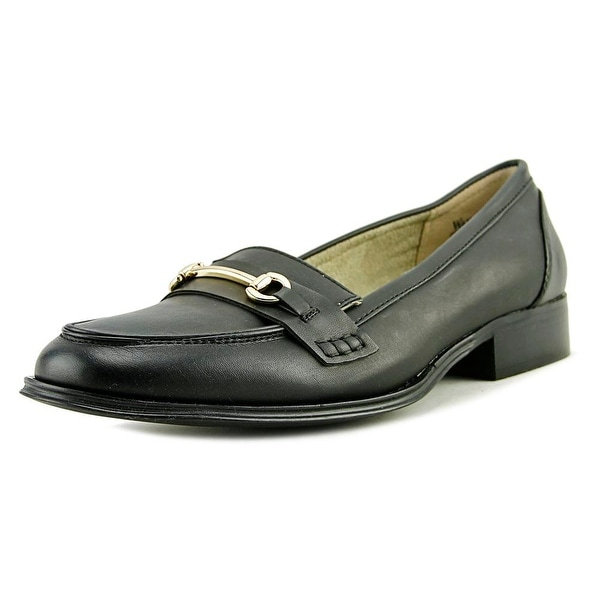 Wanted Citi Time Women Round Toe Synthetic Black Loafer