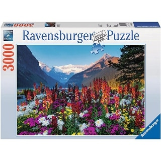 Flowery Mountains 3000 Piece Puzzle