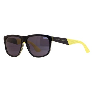 Marc by Marc Jacobs MMJ 417/S 5WV/Y1 Black/Yellow Sunglasses - 57mm-15mm-140mm