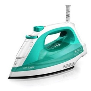 Black+Decker Ir1010 Light 'N Easy Compact Steam Iron With Nonstick Standard Cord Iron