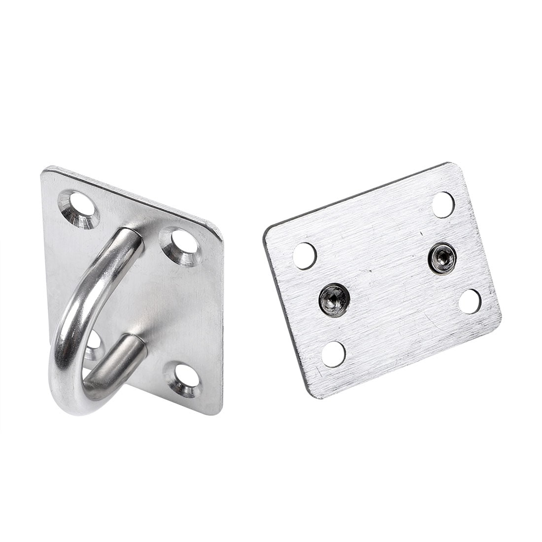Stainless Steel Cabin Hook And Eye Latch Lock Shed Gate Door Catch Holder D/_N