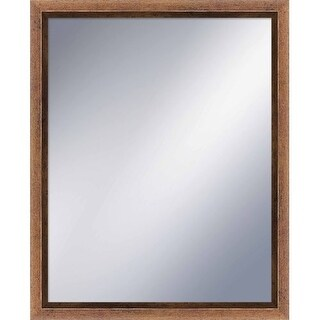 PTM Images 5-1234 31-1/2 Inch x 25-1/2 Inch Rectangular Framed Mirror - N/A