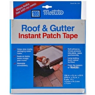 "Frost King 510 Mortite Roof & Gutter Instant Patch Tape, 1-3/4"" x 1-1/16"" x 25'"