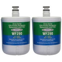 Replacement LG ADQ72910901 Refrigerator Water Filter by Aqua Fresh (2 Pack)