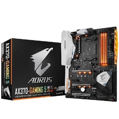 Gigabyte Aorus Am4 Amd X370 Rgb Fusion Smart Fan 5 Hdmi M 2 U 2 Usb 3 1  Type-C Atx Ddr4 Motherboard - Ga-Ax370-Gaming 5