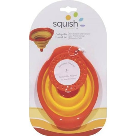 Squish 41011 Collapsible Funnels, 3 Piece Set
