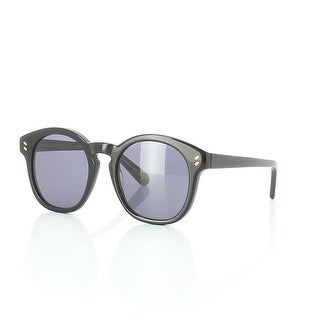 Sc0013S 001 Women'S Black Sunglasses With Grey Lenses