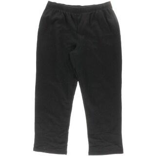 Karen Scott Womens Fleece Lined Active Sweat Pants - XL