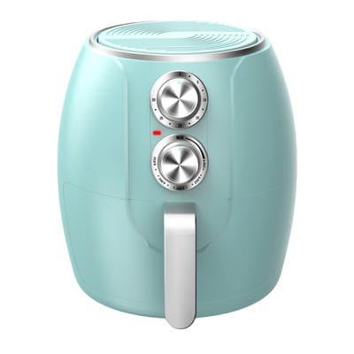 Brentwood 3.2 Quart Electric Air Fryer in Turquoise