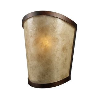 Landmark Lighting 65030-1 Craftsman / Mission 1 Light Up Lighting Wall Sconce with Tan Mica Shade from the Mojave Collection|https://ak1.ostkcdn.com/images/products/is/images/direct/12db0fcbb1e6e2a8131b0293251c76790da6a85f/Landmark-Lighting-65030-1-Craftsman---Mission-1-Light-Up-Lighting-Wall-Sconce-with-Tan-Mica-Shade-from-the-Mojave-Collection.jpg?impolicy=medium