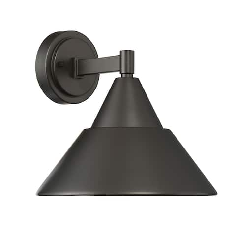 """Designers Fountain LED34731 Fremont Single Light 10"""" Tall LED Outdoor"""