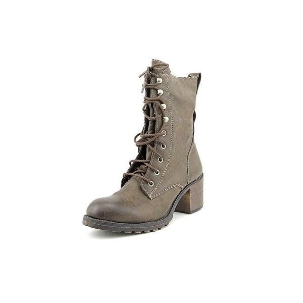 American Rag Womens Zoe Closed Toe Mid-Calf Combat Boots