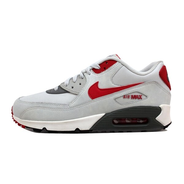 Shop Nike Men's Air Max 90 Essential Light Base Grey