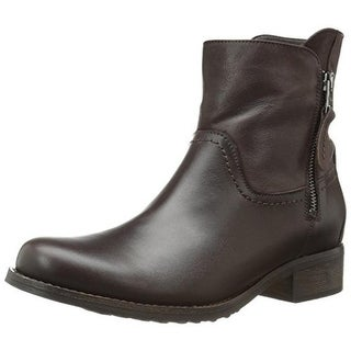 Fidji Womens Ankle Boots Leather Casual
