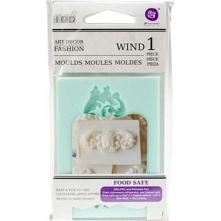 "Wind - Prima Marketing Art Decor Mould 2.5""X3.5"""