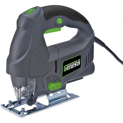Genesis GJS500 Variable Speed Jig Saw with 4-Stage Orbital Action, 4.5 Amp