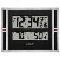 La Crosse Technology 513-149 Atomic Time Digital Wall Clock