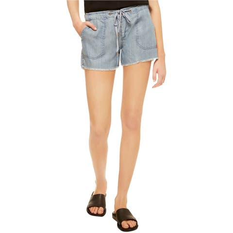 Sanctuary Clothing Womens Drawstring Casual Denim Shorts - 24