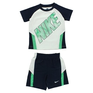 Nike Boys Toddler Nike Ralgan Set White - white/navy/green
