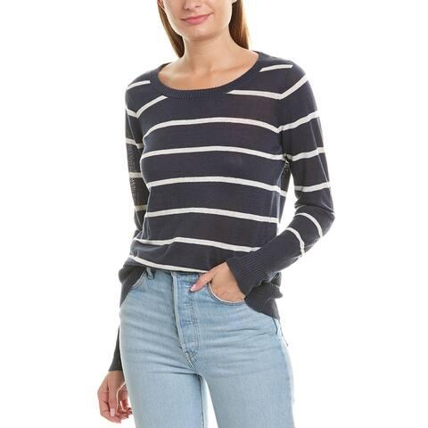 Chaser Surplice Linen Sweater