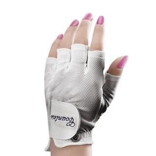 PowerBilt Countess Half Mesh Golf Gloves (3-pack)