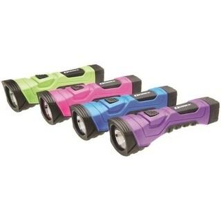 Dorcy 41-4756 LED Flashlight, Assorted Colors, Plastic