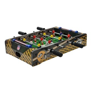 """Green Bay Packers Table Top 20"""" Foosball Table"""