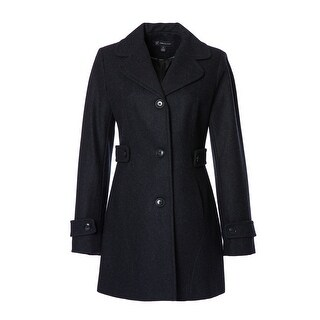 Button-Front Peacoat (2 options available)