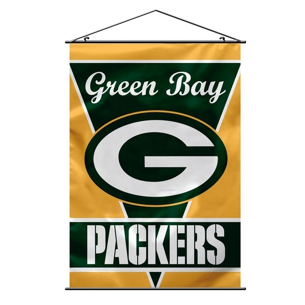 Shop Green Bay Packers Banner 28x40 Premium - Free Shipping Today -  Overstock.com - 22089655 9520f529a