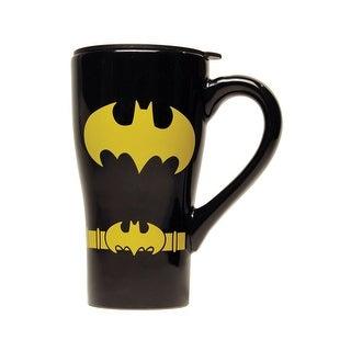 Batman Uniform Ceramic Travel Mug