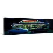 Premium Thick-Wrap Canvas entitled Diner St Paul MN