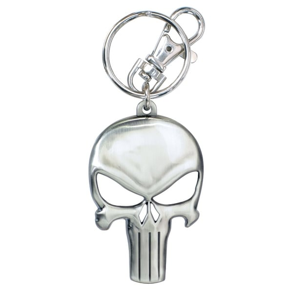 Marvel Punisher Pewter Key Ring - Multi