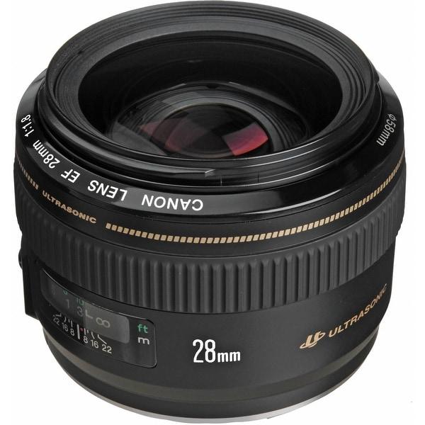 Canon EF 28mm f/1.8 USM Lens (International Model)