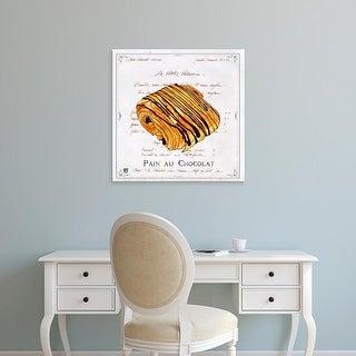 Easy Art Prints Ginny Joyner's 'Pain au Chocolat' Premium Canvas Art