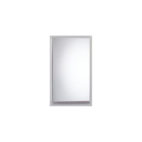 "Robern MC2440D4FPLE2 M Series 24"" x 40"" x 4"" Single Door Medicine Cabinet with Left Hinge, Integrated Outlets, & Interior Light"