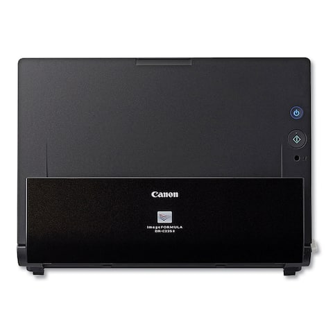 imageFORMULA DR-C225 II Office Document Scanner, 600 dpi Optical Resolution, 30-Sheet Duplex Auto Document Feeder - Clear