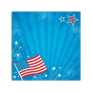"""Easy Peasy Page Layout W/3D Design 12""""X12""""-Americana"""