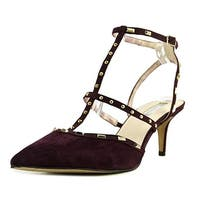 INC International Concepts Womens inc-carma Leather Pointed Toe Ankle Strap C...