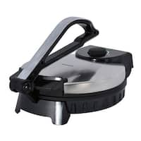Brentwood Ts-128 Stainless Steel Non-Stick Electric Tortilla Maker, 10-Inch