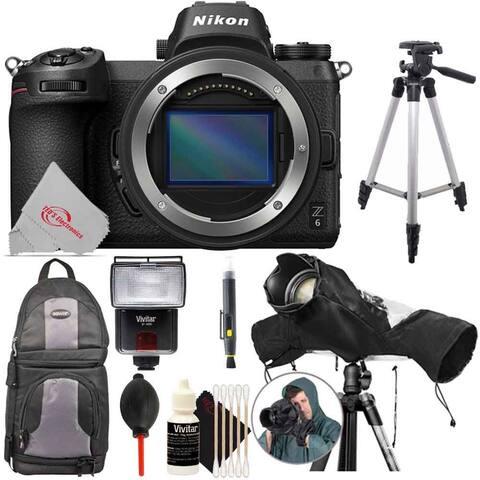 Nikon Z 6 Mirrorless Digital Camera Body + Essential Kit