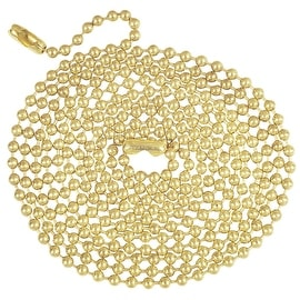 Westinghouse 5' Brass Beaded Chain