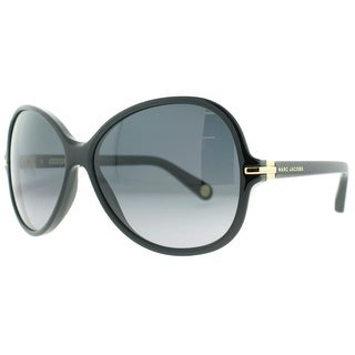 MARC JACOBS Round MJ 503/S Women's 807 HD Black Gray Gradient Sunglasses - 60mm-14mm-140mm