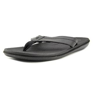 Sanuk Planer   Open Toe Leather  Flip Flop Sandal